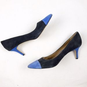 Ann Taylor Two-Toned Suede Heels in Size 9.5
